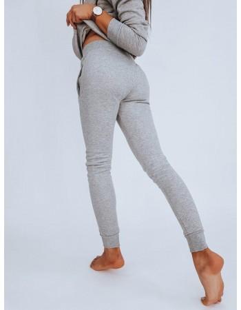 Spodnie damskie dresowe FITS szare UY0132