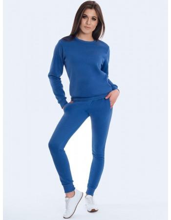 Bluza damska FASHION II jasnoniebieska BY0163