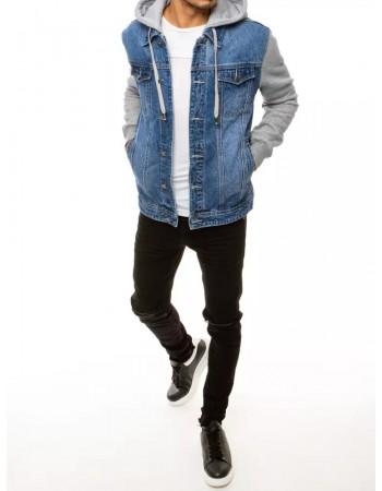 Kurtka męska jeansowa niebieska TX3661