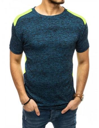 T-shirt męski ciemnoniebieski Dstreet RX4520