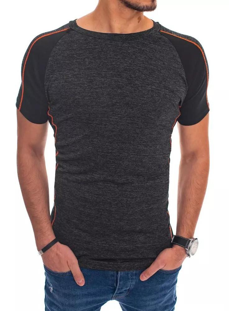 T-shirt męski czarny RX4449