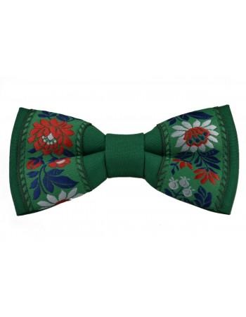 Pánsky zelený folk motýlik (mot019)