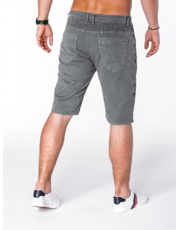 Trendy šortky pre pánov W046 - sivé, veľ. 30