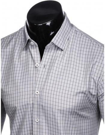 Sivá košeľa pre pánov K446, veľ. XL