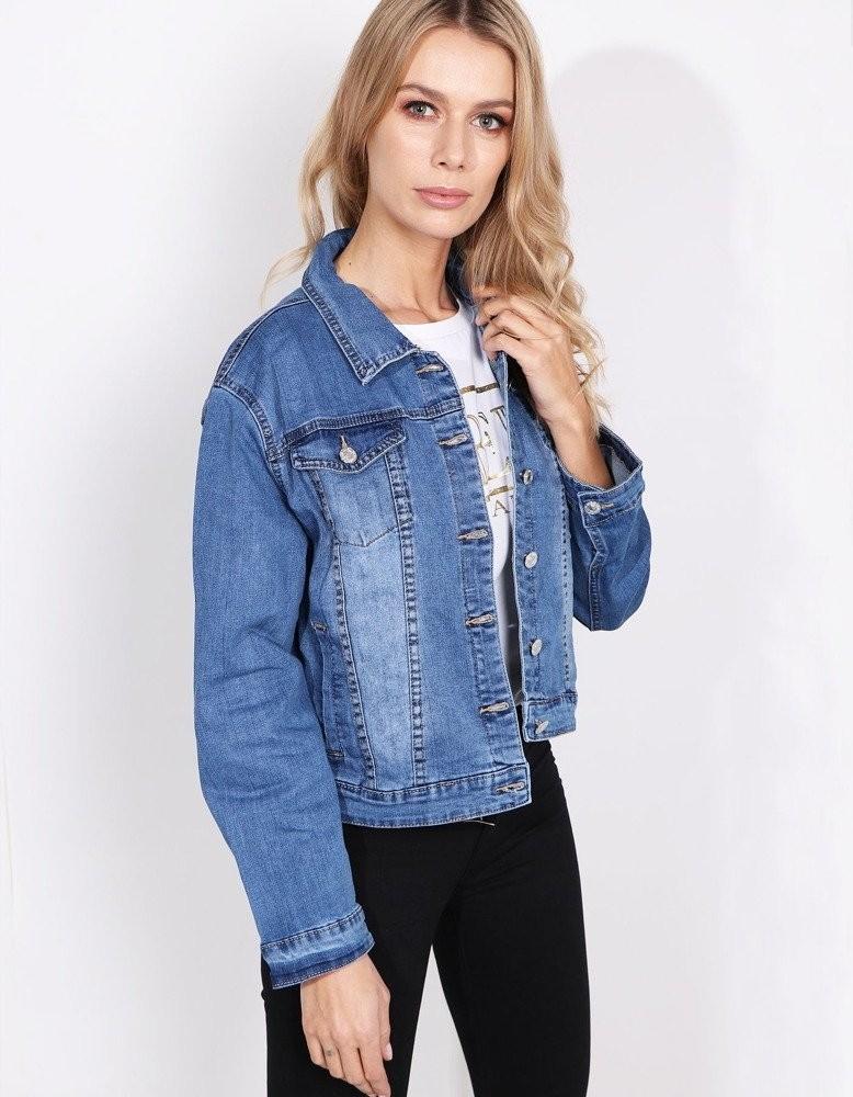 Modrá džínsová bunda MILLA (ty0616)