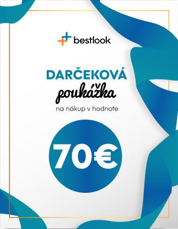 Darčekový poukaz v hodnote 70€