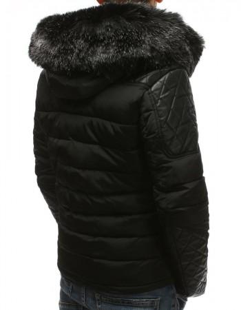 Pánska zimná bunda (tx2564) - čierna, veľ. L