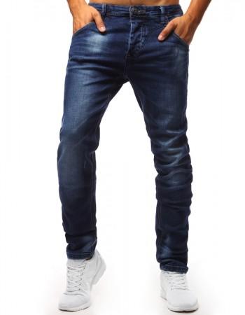 Pánske džínsy (ux1347) - tmavomodré, veľ. 31