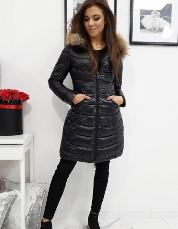 Dámska prešívaná zimná bunda ESTELLA (ty1025) - čierna, veľ. L