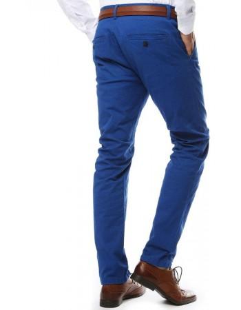 Modré pánske chino nohavice (ux2139), veľ. 28