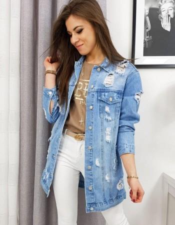 Dámska svetlomodrá džínsová bunda LUIZA TY1080