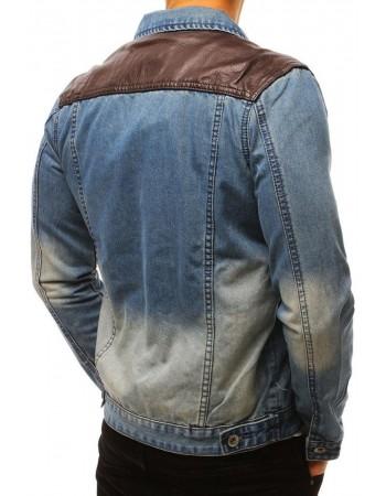 Kurtka jeansowa męska niebieska TX2645