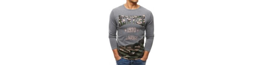 Pánske nátelníky - tričká s dlhým rukávom