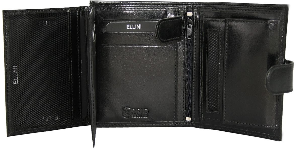Čierna pánska peňaženka Ellini