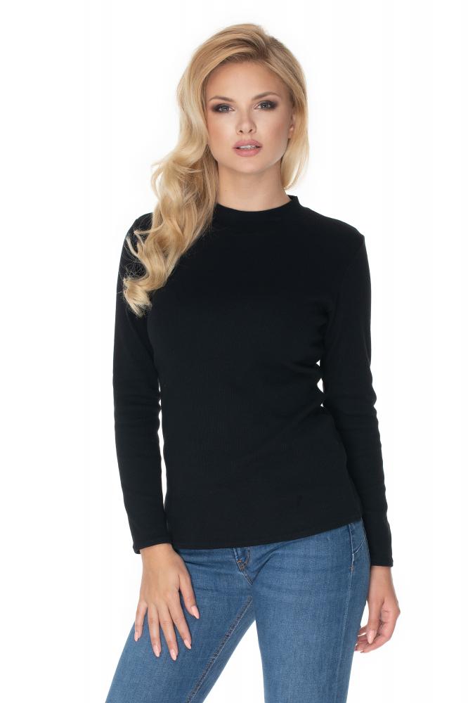 Čierna dámska blúzka 0166 - Uni