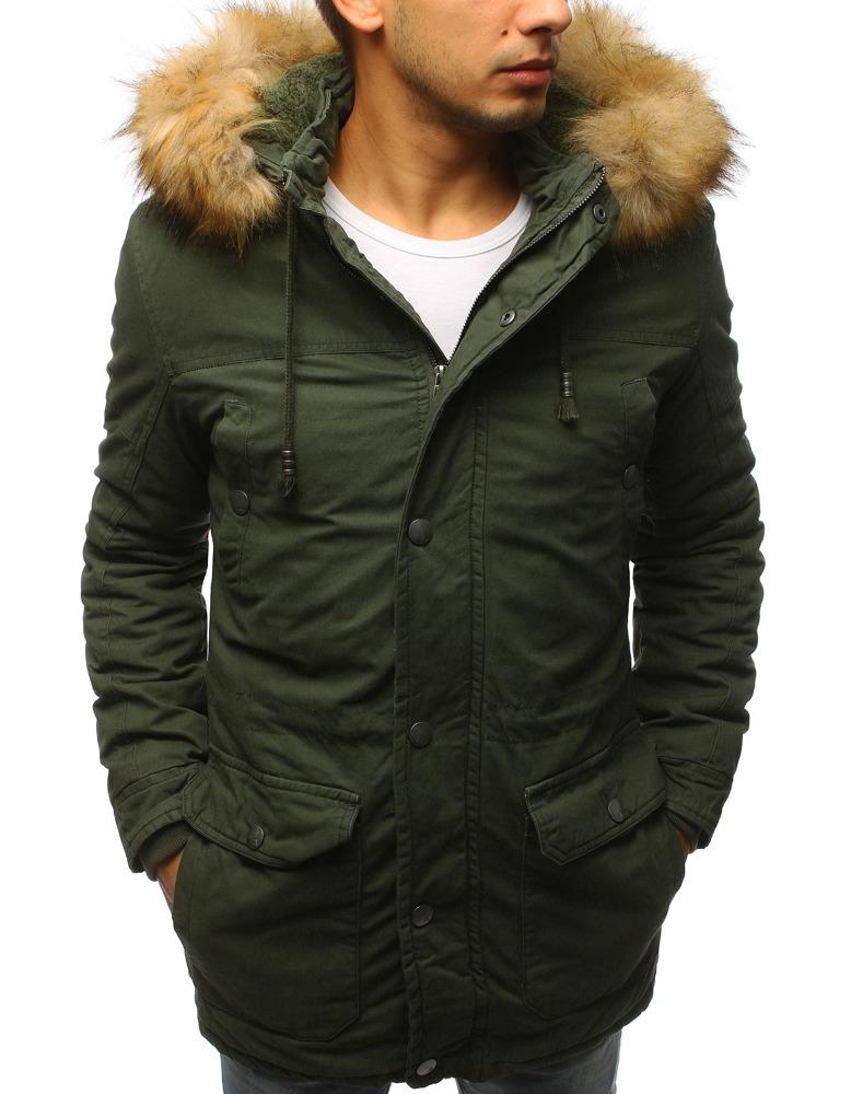 Pánska zimná bunda (tx2444) - zelená, veľ. XXL - XXL