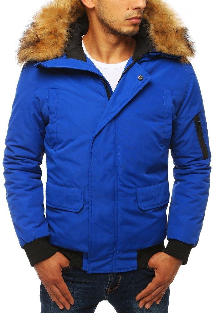 Modrá pánska zimná bunda (tx2871), veľ. L - L