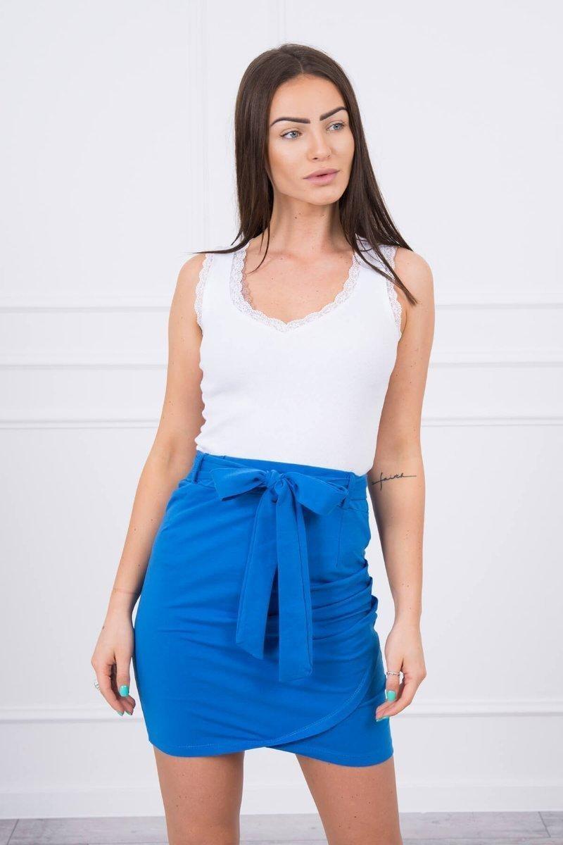 Dámska sukňa 8984 - modrá - Uni