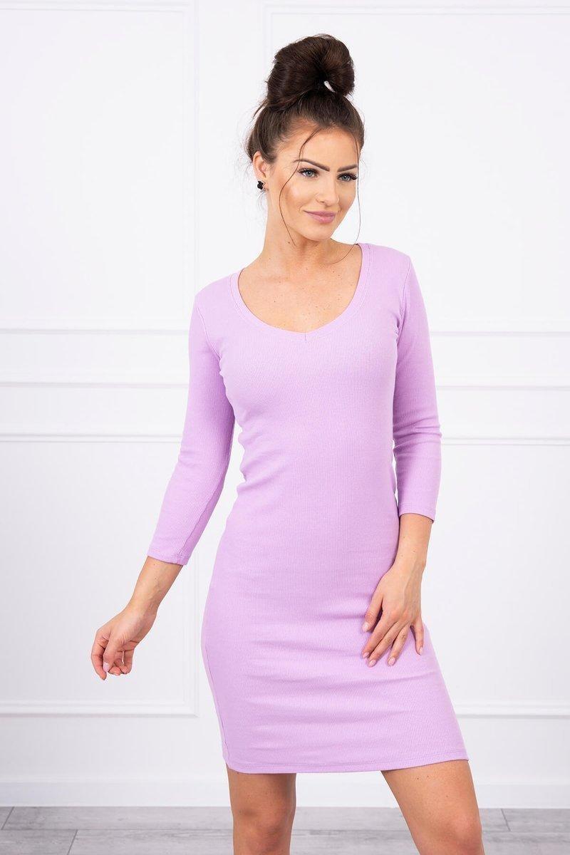 Dámske šaty 8863 - fialové - Uni