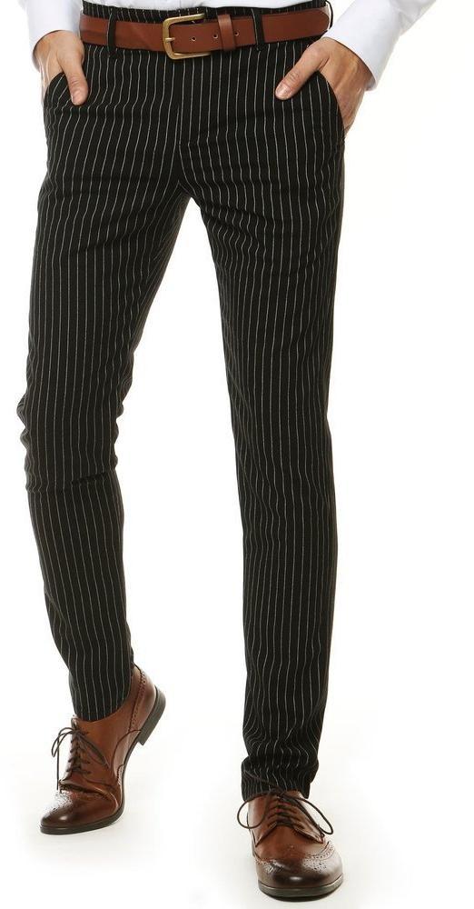 Čierne pánske nohavice UX2569 - 30