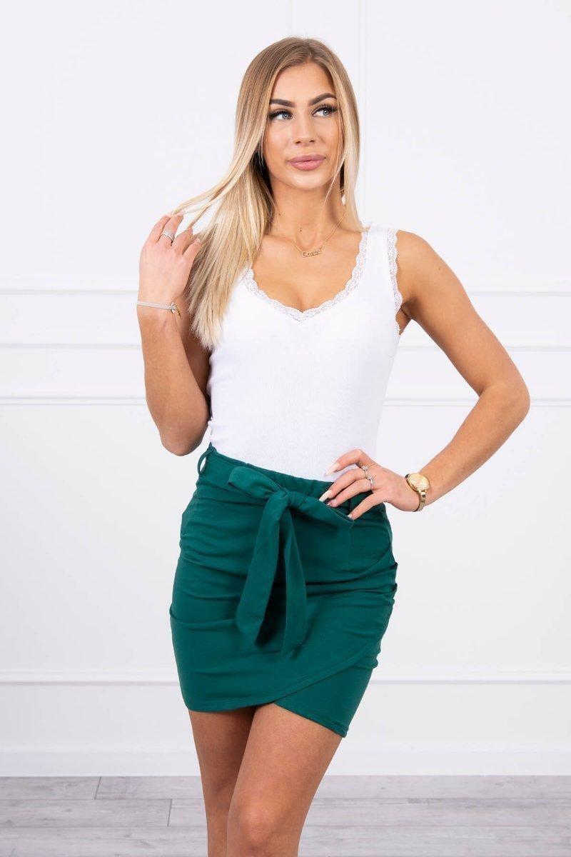Dámska sukňa 8984 - zelená - Uni