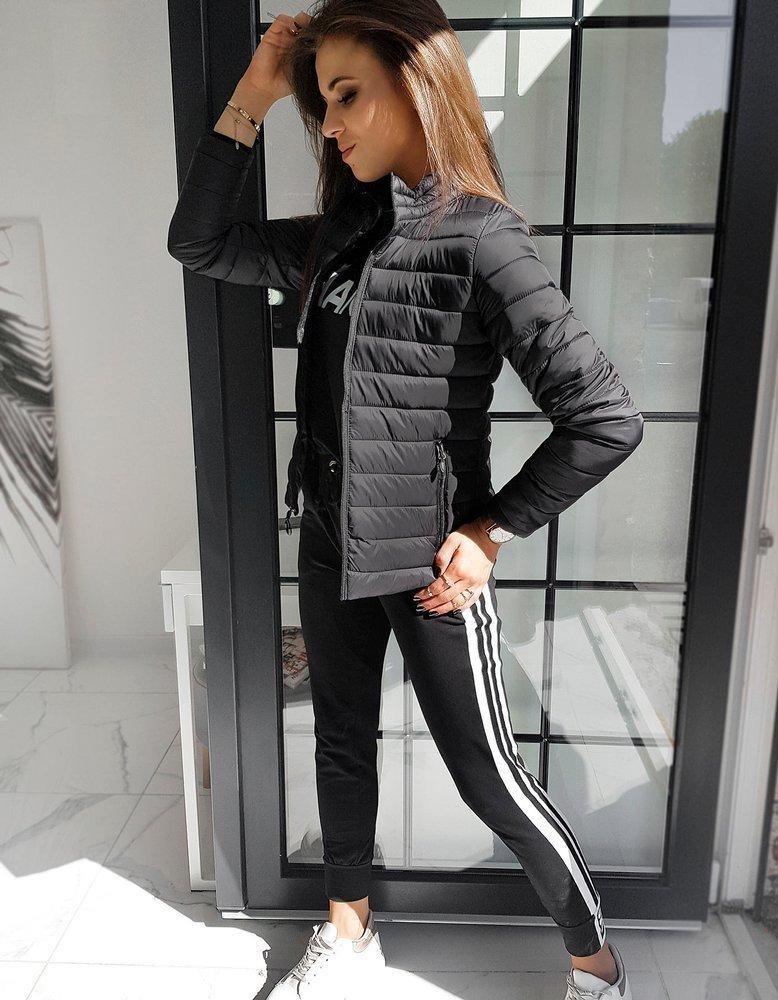 Prešívaná dámska bunda EMMA TY1541 - čierna, veľ. XXL - XXL