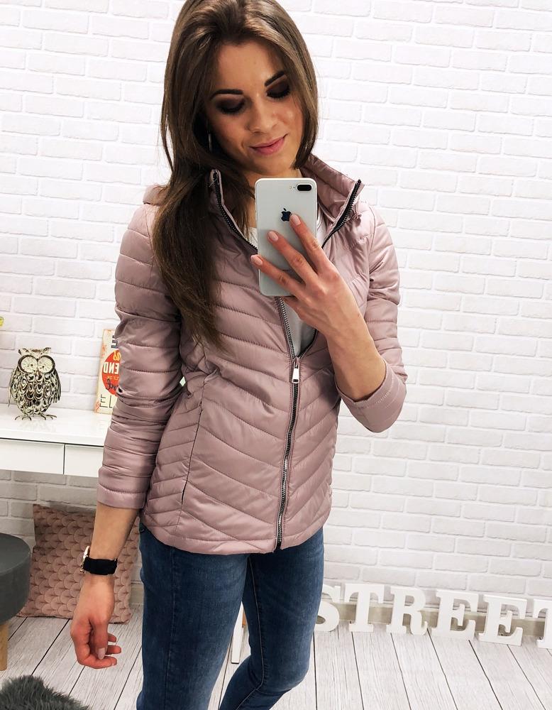 Dámska prechodná bunda (ty0213) - ružová, veľ. XXL - XXL